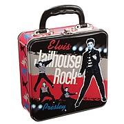 Elvis Presley Jailhouse Rock Square Tin Tote