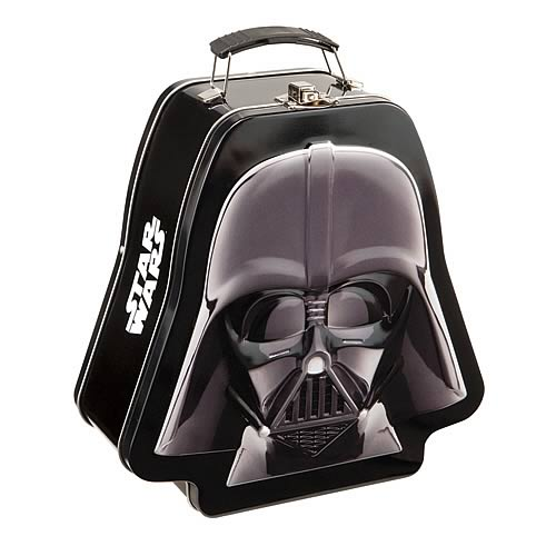 Star Wars Darth Vader Embossed Tin Tote