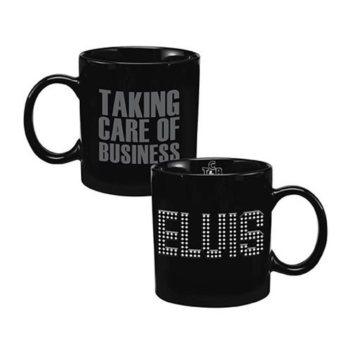 Elvis Presley Taking Care of Business 20 oz. Bas Relief Ceramic Mug