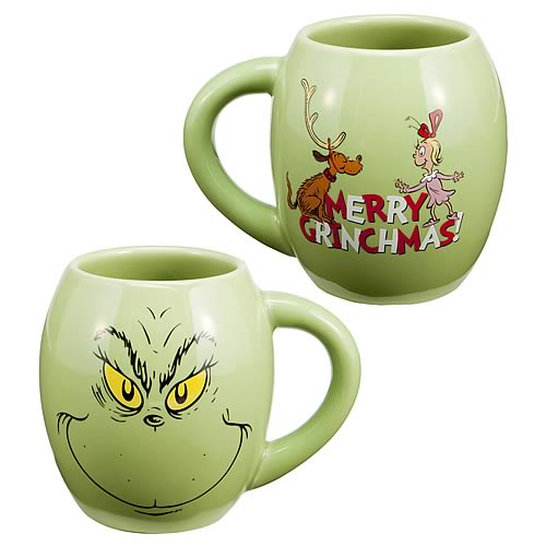 Dr. Seuss The Grinch Oval Mug