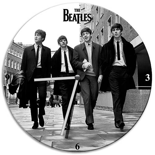 Beatles Walking Wall Clock