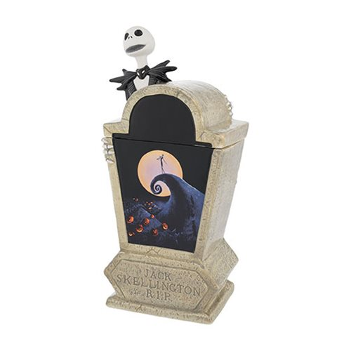 The Nightmare Before Christmas Tombstone Sculpted Ceramic Cookie Jar