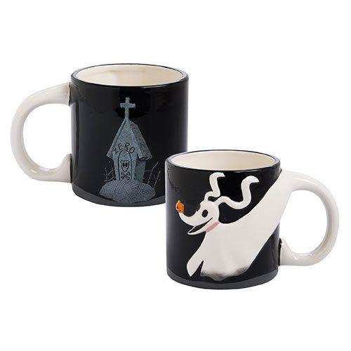 Nightmare Before Christmas Zero 20 oz. Sculpted Ceramic Mug