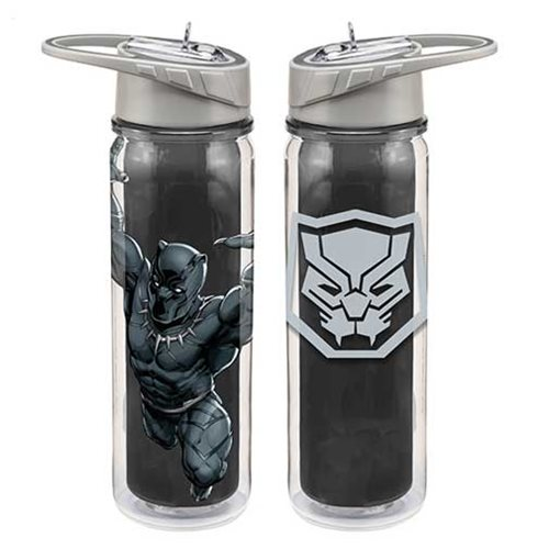 Marvel Black Panther 18 Oz. Tritan Water Bottle