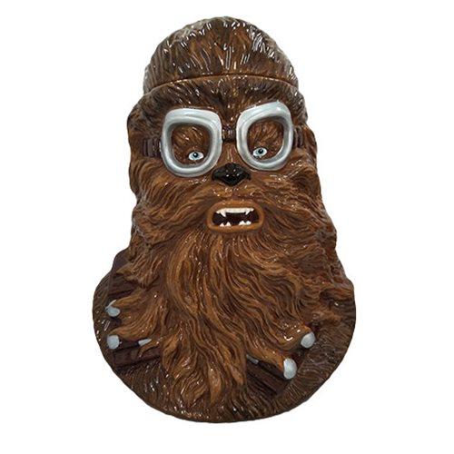Star Wars Solo Chewbacca Sculpted Ceramic Cookie Jar