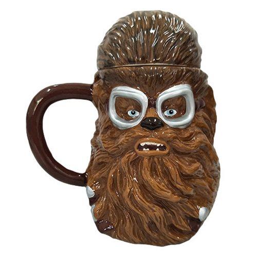 Star Wars Solo Chewbacca 20 oz. Sculpted Ceramic Mug