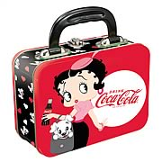 Betty Boop Coca-Cola Rectangular Tin Tote