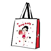 Betty Boop Coca-Cola Sexy Lady Reusable Shopping Tote