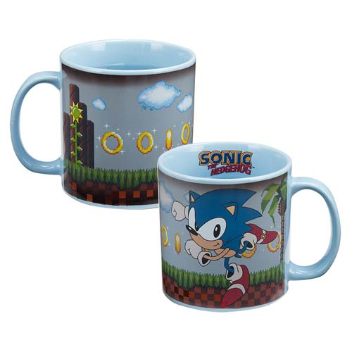 Sonic the Hedgehog 20 oz. Heat-Reactive Ceramic Mug