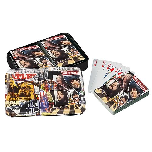 The Beatles Anthology Playing Cards Gift Set