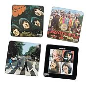 The Beatles Album Cover Coaster 4-Pack