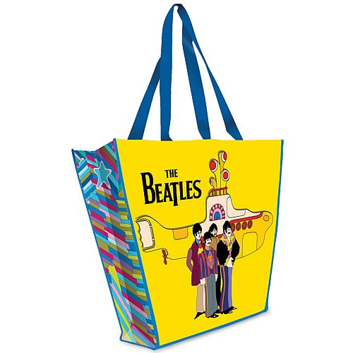 The Beatles Yellow Submarine Resuable Shopping Tote