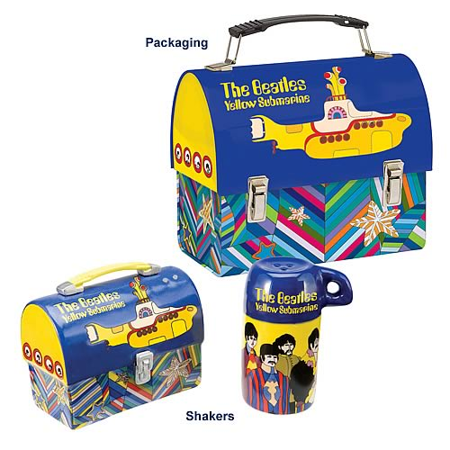 The Beatles Yellow Submarine Salt and Pepper Shakers