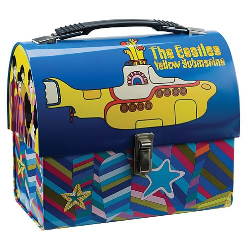 The Beatles Yellow Submarine Dome Tin Tote