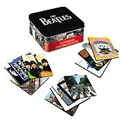 The Beatles Coasters with Tin