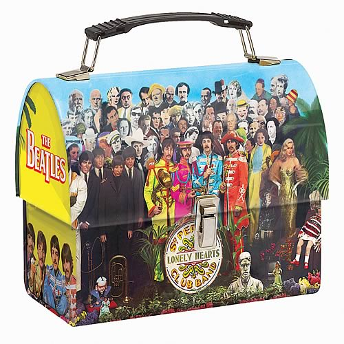 The Beatles Sgt. Pepper Dome Tin Tote