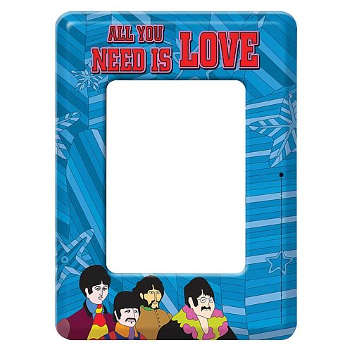 The Beatles All You Need Is Love Mini Magnetic Frame