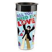 The Beatles All You Need Is Love Plastic Travel Mug