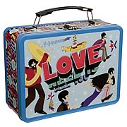 Beatles Yellow Submarine All You Need Large Tin Tote