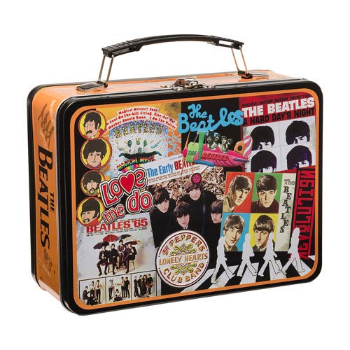 The Beatles Albums Large Tin Tote