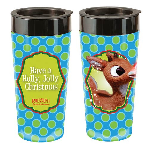 Rudolph the Red-Nosed Reindeer 16 oz. Plastic Travel Mug