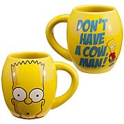 Simpsons Bart Simpson Don't Have a Cow Man! Mug
