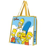 Simpsons Family Large Shopping Tote