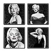 Marilyn Monroe Coaster 4-Pack