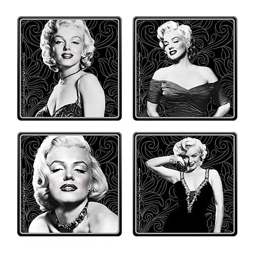 Marilyn Monroe Coaster 4-Pack