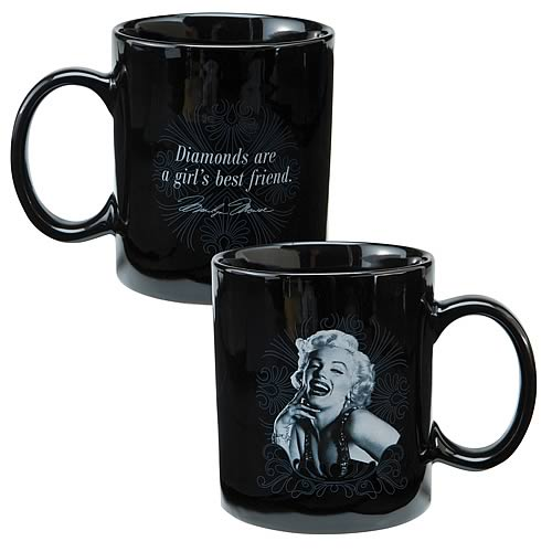 Marilyn Monroe Diamonds Are Mug