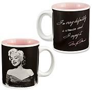 Marilyn Monroe Very Definitely A Woman Ceramic Mug
