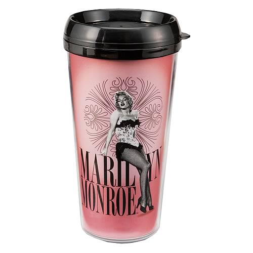 Marilyn Monroe Plastic Travel Mug