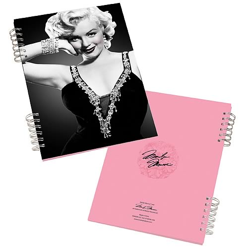 Marilyn Monroe Lenticular Notebook