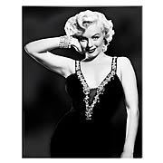 Marilyn Monroe Classy Pose Large Stretched Canvas