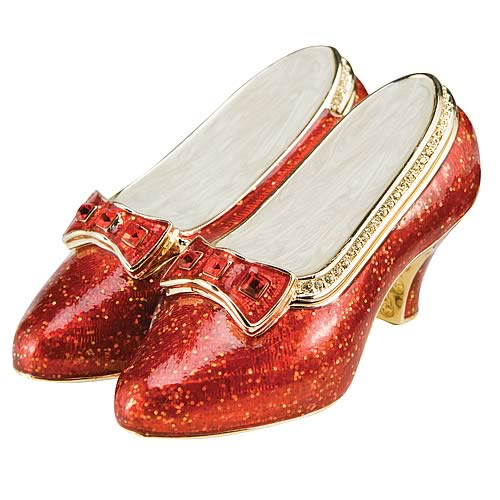 Wizard of Oz Ruby Slippers Limited Edition Jeweled Box