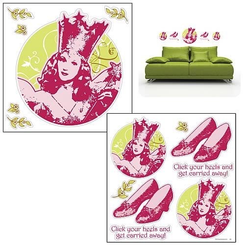 Wizard of Oz Glinda Wall Decal Set