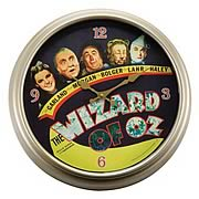 Wizard of Oz Movie Poster Wall Clock