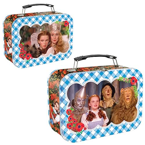 Wizard of Oz Gingham Pattern Lunch Box