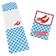 Wizard of Oz All About the Shoes Magnetic Notepad