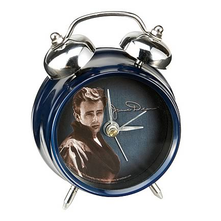 James Dean Mini Twin Bell Alarm Clock