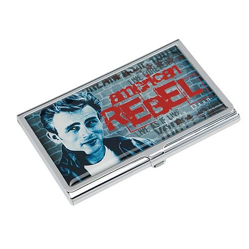 James Dean American Rebel Business Card Holder