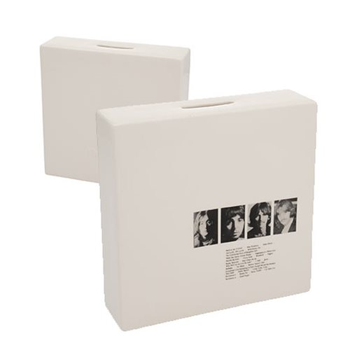 The Beatles Limited Edition White Album Ceramic Coin Bank