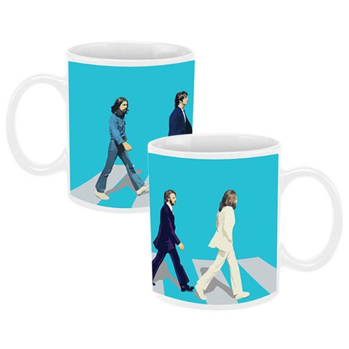 The Beatles Abbey Road 12 oz. Ceramic Mug