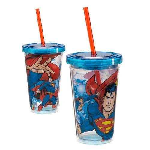 Superman 12 oz. Acrylic Travel Cup