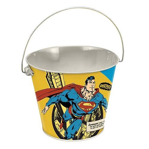Superman Tin Bucket