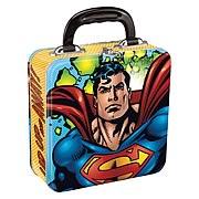 Superman Square Tin Tote