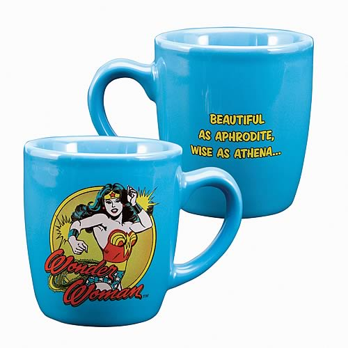 Wonder Woman Wise as Athena Mini Mug