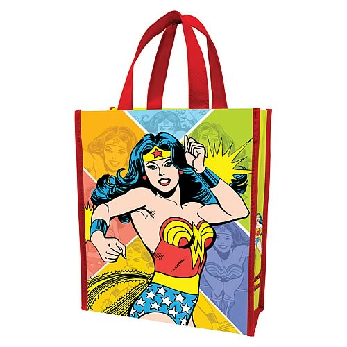 Wonder Woman Small Resuable Shopping Tote