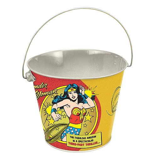 Wonder Woman Tin Bucket