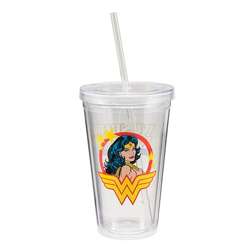 Wonder Woman Travel Cup